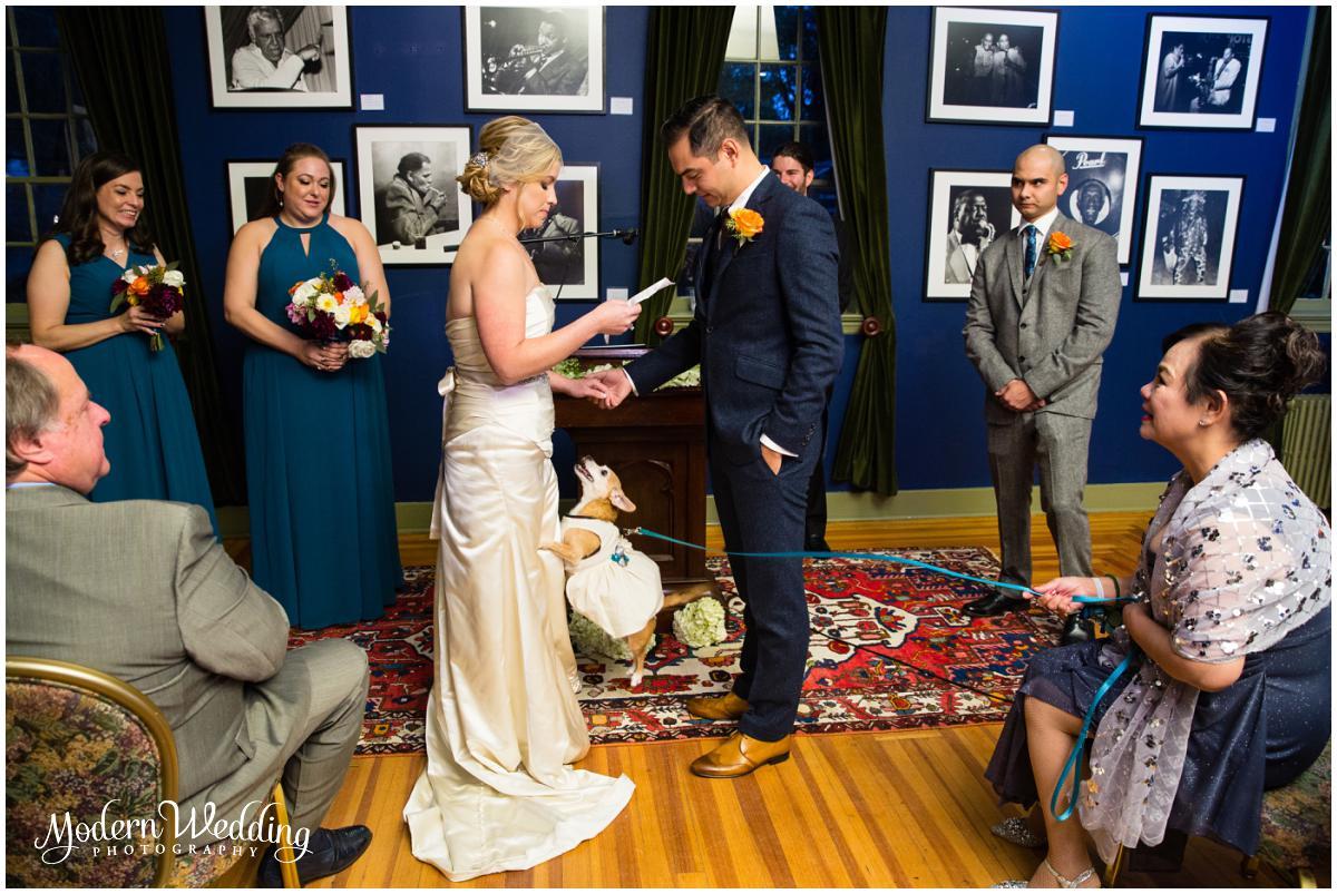 Jazz Loft Wedding Ceremony Stony Brook