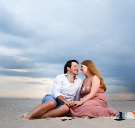 Jones Beach Engagement Shoot