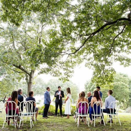 Intimate Shelter Island Wedding