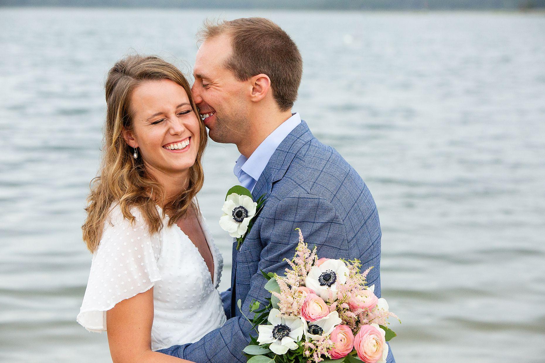 Intimate Long Island Beach Wedding